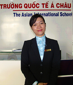Phạm Ngọc Lan Phương - Giám đốc CT tiếng Anh quốc tế
